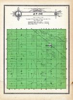 Township 27 Range 10, Inman, Ewing, Stafford, Holt County 1915